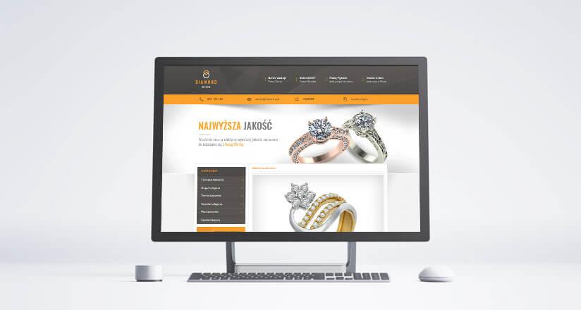 szablon na allegro diamond ring
