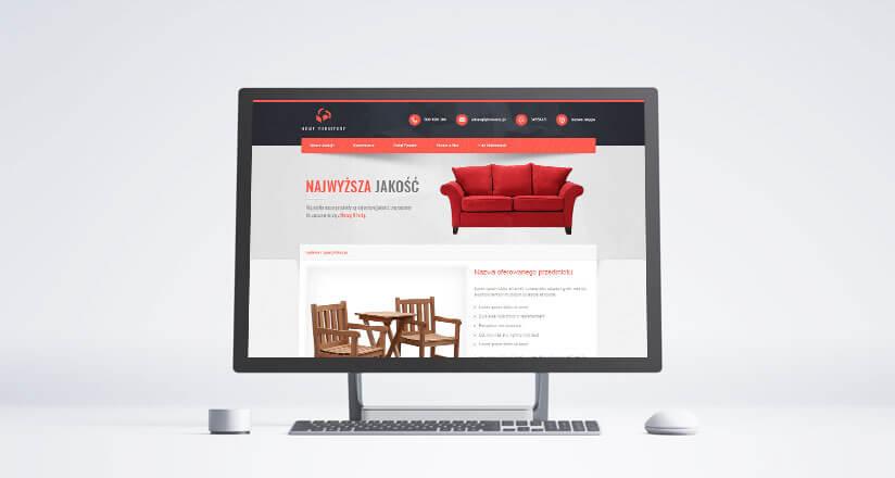 allegro szablon home furniture
