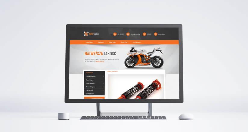 szablony aukcji moto racing